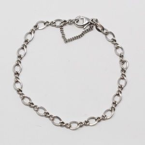 JAMES AVERY Sterling Medium Twist Charm Bracelet M